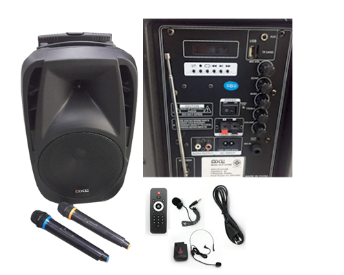 GXL GLP A1000 มีบูลทูธ Portable Amplifier With Speaker