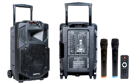 ROCKZONE ลำโพงล้อลาก 15 นิ้ว ROCKZONE RZP 1523WA Portable Amplifier With Speaker